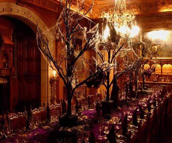 Spooky Halloween Formal Table Setting Weddings