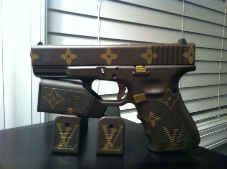 Louis Vuitton Glock 22 Gun | Guns | Pinterest