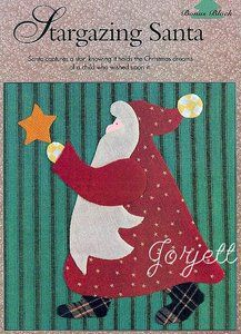 Santa applique patterns - Quilting Board