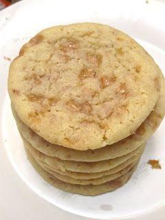 Recipe Butter Toffee Cookies by Goddess of Baking