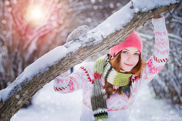 Зима идеи фото