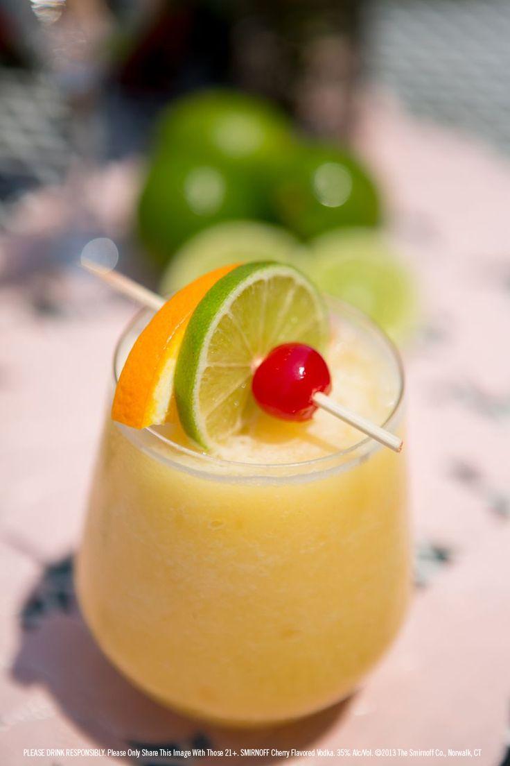 Cherry Slice Vodka Cocktail Recipe — Dishmaps