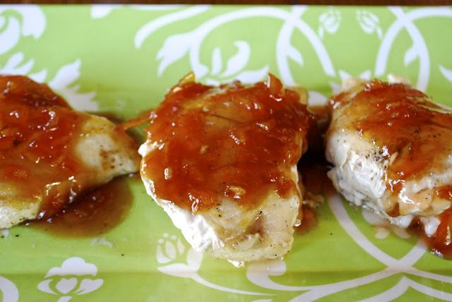 "Point-less"" Meals: Chicken with Orange Plum Bourbon Sauce"