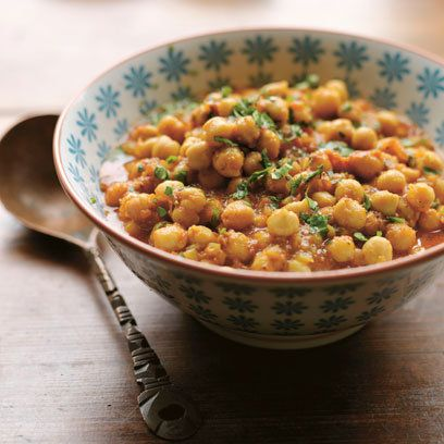 Cinnamon-Spiced Chickpea Curry, via Red Magazine. Photo by Christian ...
