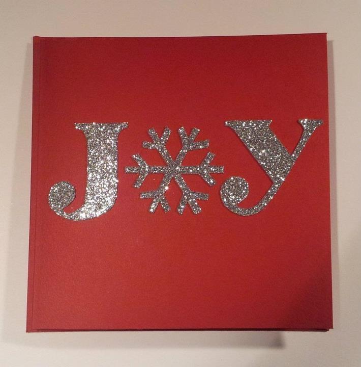 Christmas card joy handmade cards by me pinterest for Handmade christmas cards pinterest