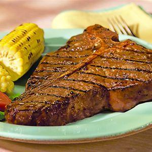 Grilled Porterhouse Steaks | My Pinterest Cookbook | Pinterest