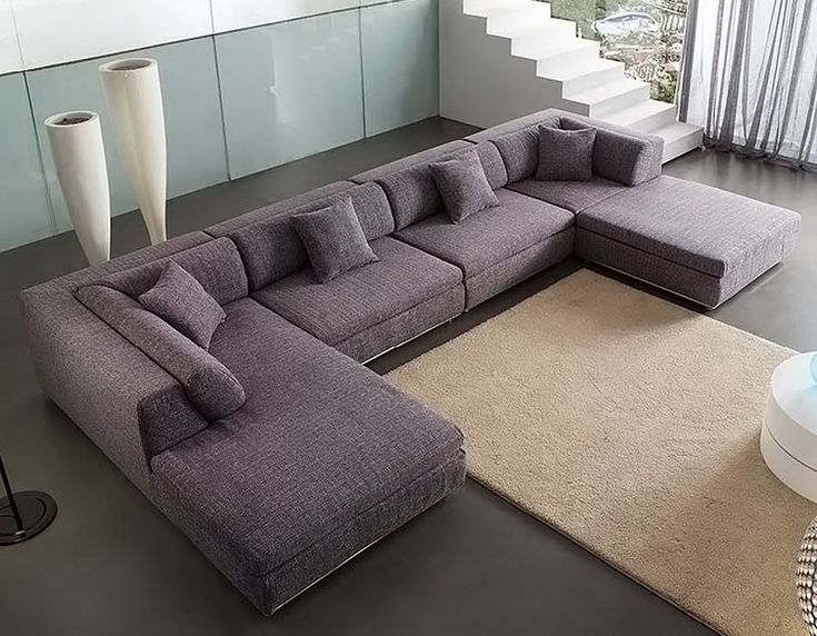 U shaped fabric sectional sofa am b330 field point for U shaped sectional sofa bed