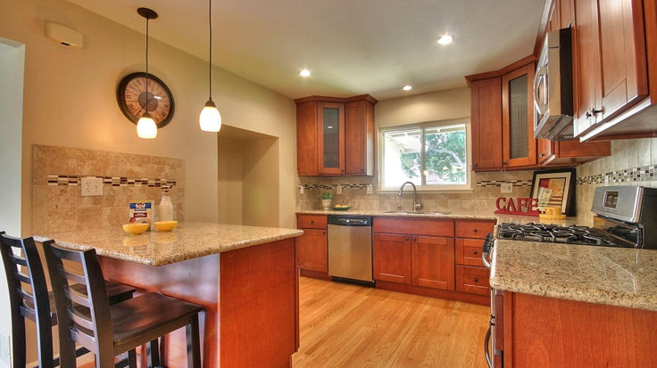 Warm Kitchen Cabinets San Jose Kitchens Pinterest