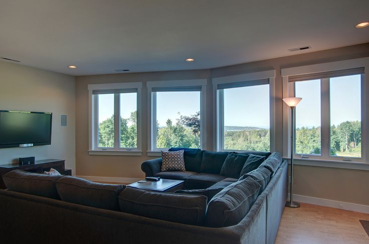 Daylight Basement Living Room 3917 H Street Rd Blaine