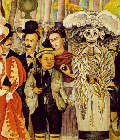 Pin by martha medrano on art pinterest for Diego rivera s most famous mural