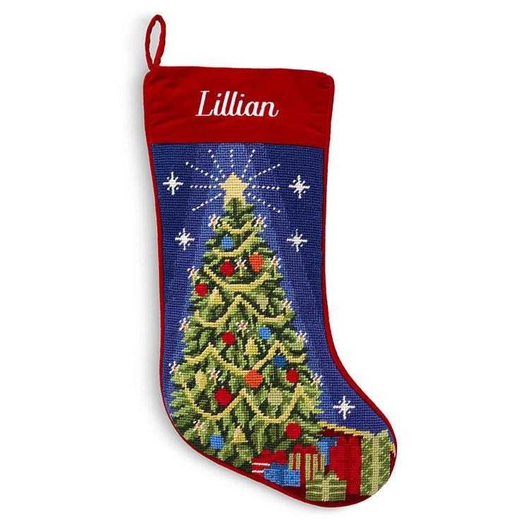 Needlepoint Christmas Stockings Christmas Pinterest