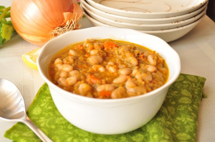 Hearty White Bean Soup | Recipe