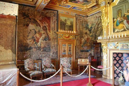 chateau de cheverny interior images  camera dei bambini - Picture of ...