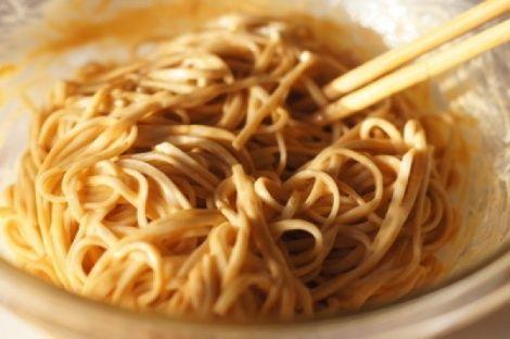 Peanut-Sesame Noodles | Meatless Main Dish | Pinterest