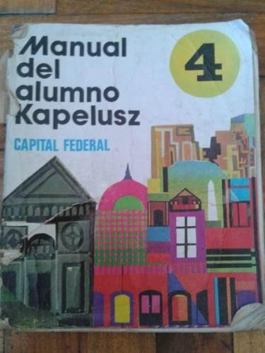 Yo tenía el Manual Del Alumno Bonaerense