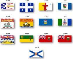 canadian provinces flags