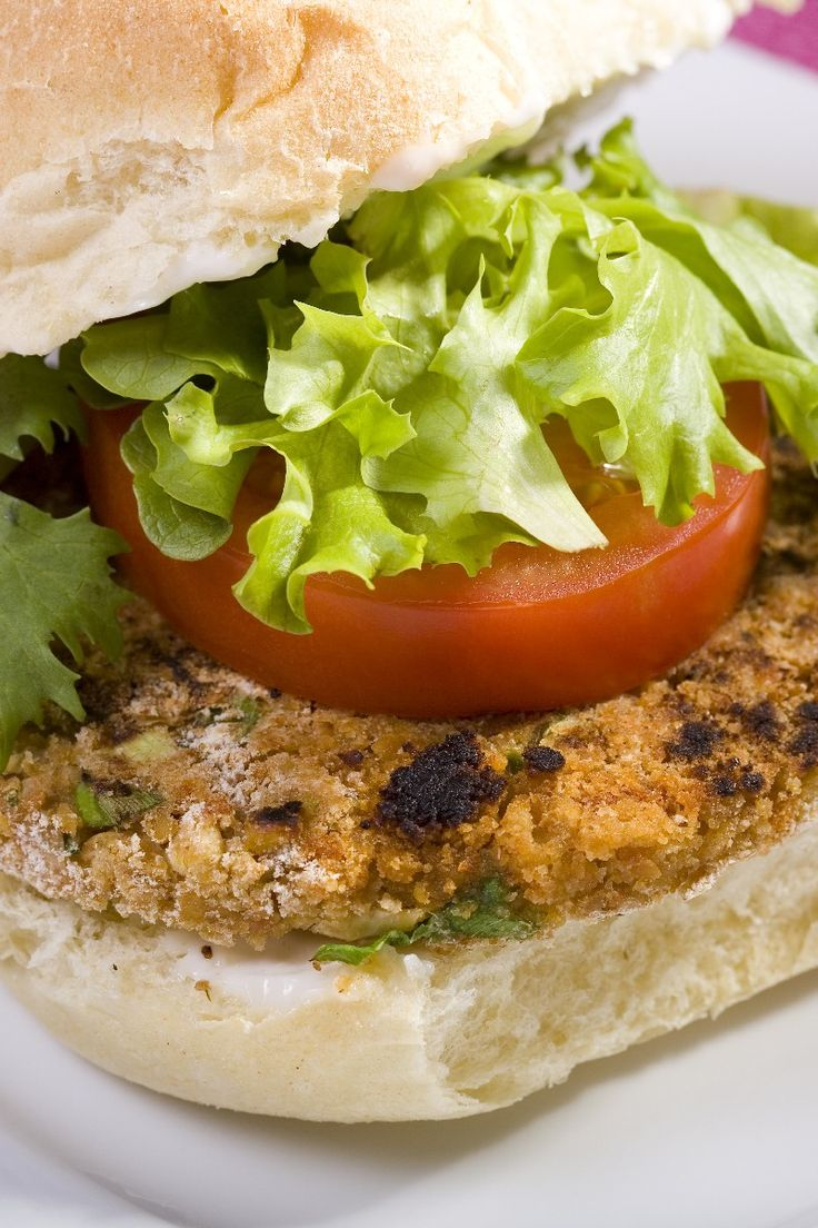 All-Star Veggie Burger #Recipe #Meatless | Nola turns 2 | Pinterest