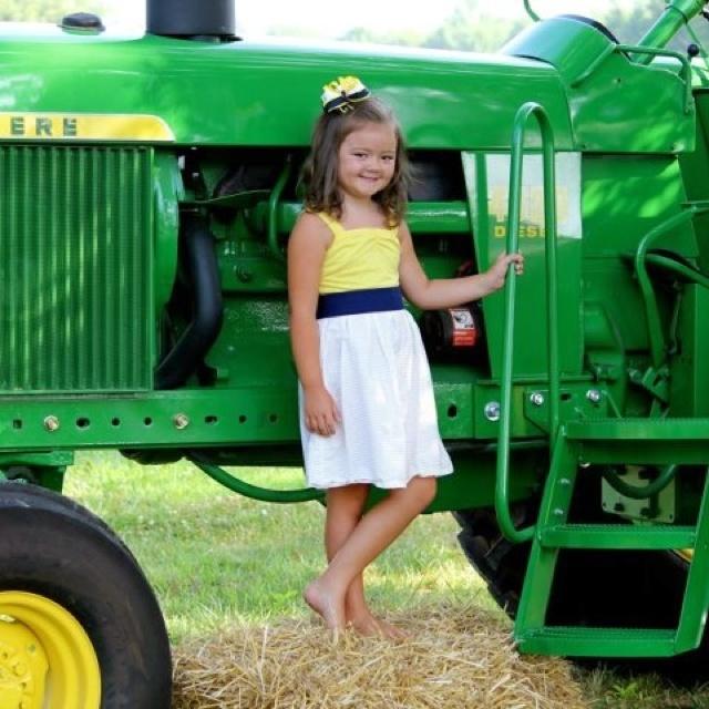 Shes a John Deere Girl | farming pictures | Pinterest