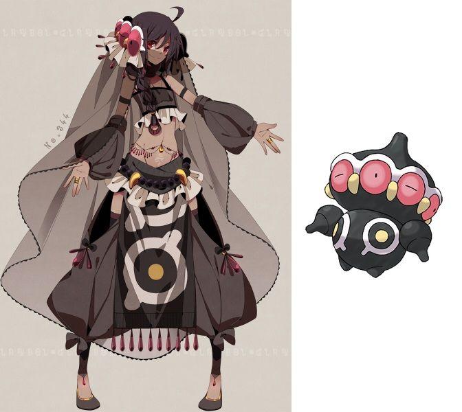 Pokemon Anime Characters : If pokemon characters were anime