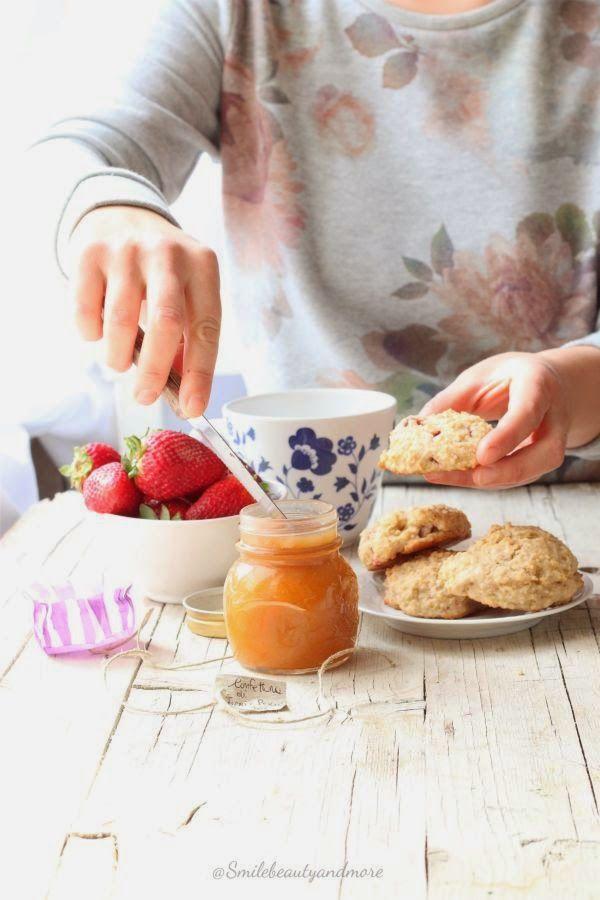 Scones di quinoa e fragole | I'm a foodblogger | Pinterest