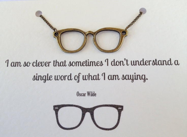 Glasses Frames Quotes : Wearing Glasses Quotes. QuotesGram