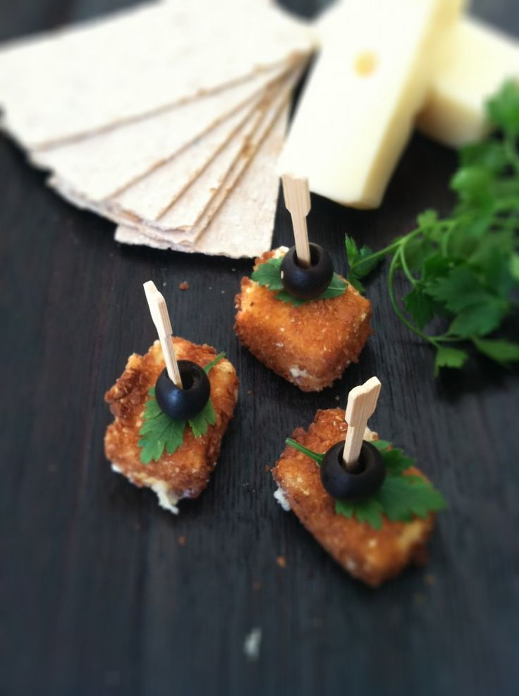 How To Make Fried Cheese from bell'alimento. http://punchfork.com ...