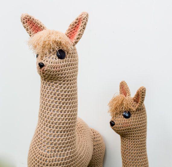 Alpaca Amigurumi Crochet Patterns : Crochet Alpaca Pattern, Amigurumi Pattern, Crochet Toy ...
