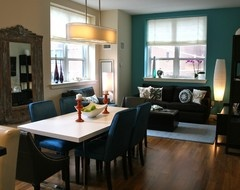 Teal And Brown Living Room For The Home Pinterest