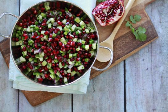 Pomegranate Winter Salsa   Recipe