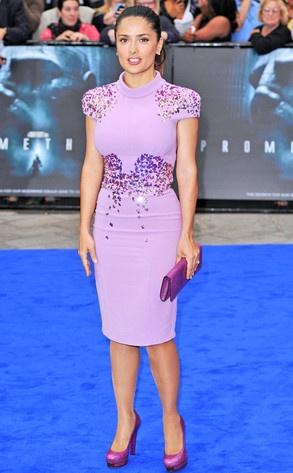 What's your verdict on Salma's Bottega Veneta dress?