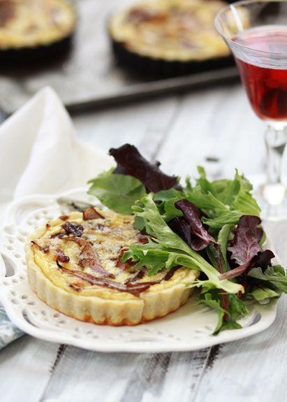 Caramelized Onion Quiche with Dubliner | Recipe