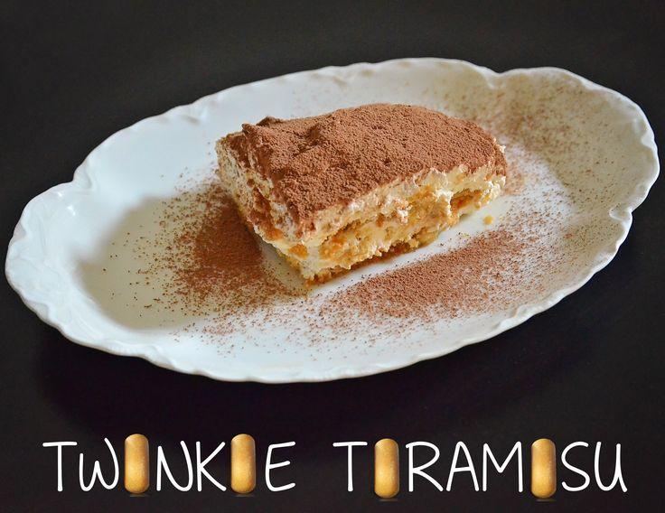 Twinkie Tiramisu #TwinkieCookBook #MC | Food | Pinterest