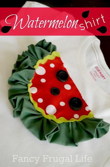 Ruffle Watermelon Shirt