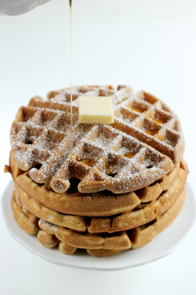 Gingerbread Waffles | Holiday Ideas and Recipes | Pinterest