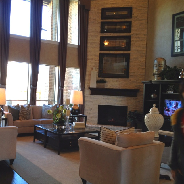 Love The High Ceiling Living Room Lovely Homes Pinterest
