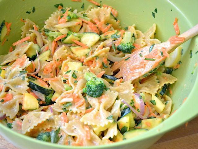Creamy Garden Pasta Salad | Recipe