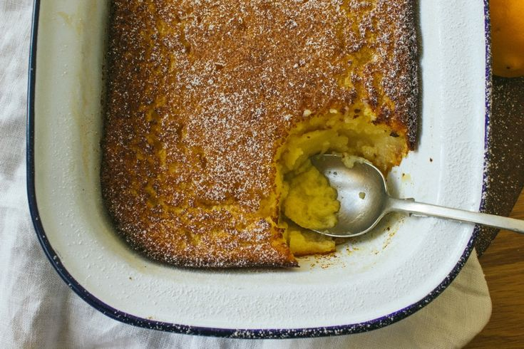 Meyer Lemon Delicious Pudding by Simple Provisions. Sunday is my ...