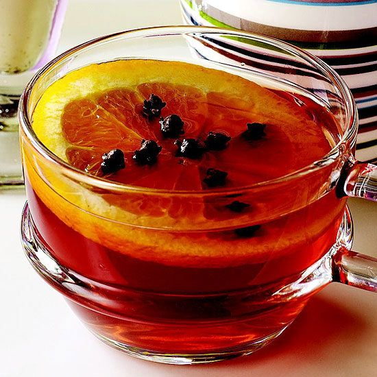 Hot Spiced Cranberry-Apple Cider ~~ Fresh ginger, cardamom pods, and ...