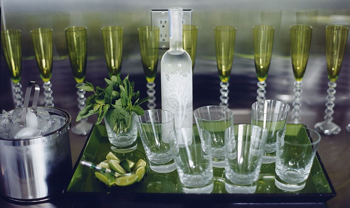 Beverages Table Setting Entertaining And Party Ideas Pinterest