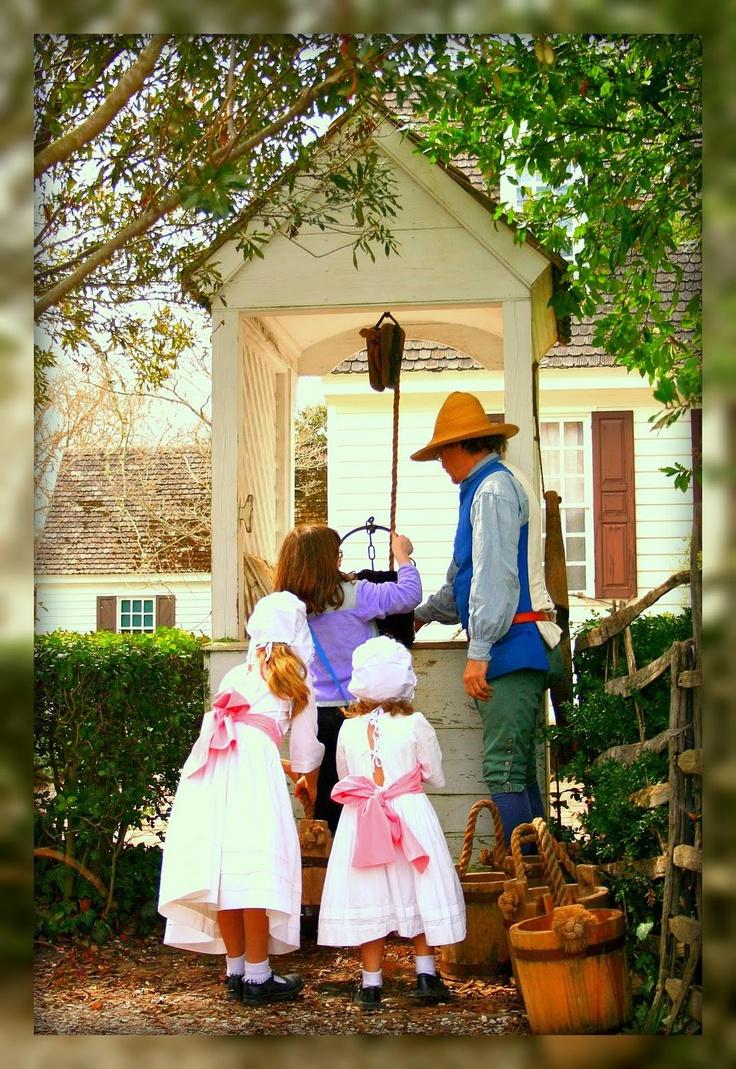 Cute Colonials, Colonial Williamsburg, Va