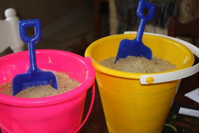 sand pudding -- cute summer party idea (or beach themed birthday dessert)