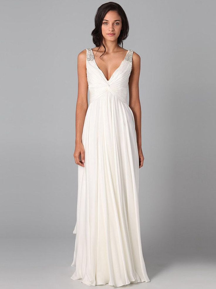 Simple second wedding dress dresses for second for Dresses for 2nd weddings