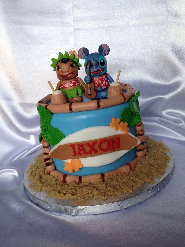 Lilo & Stitch cake by: Yummy Cake Delights