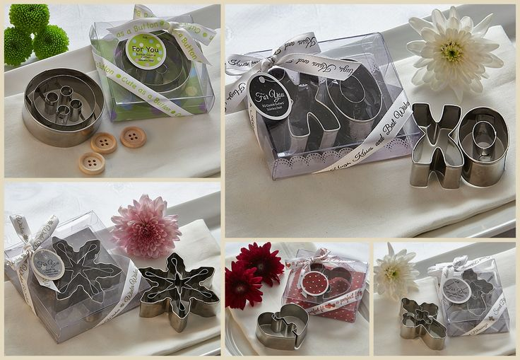 Cookie Cutter Party Favors from HotRef.com