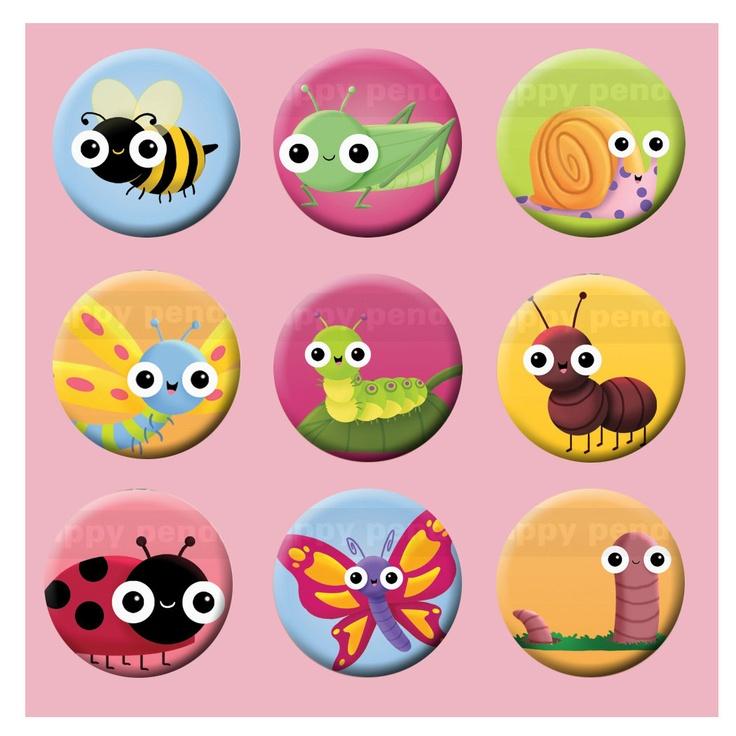 Cute bugs | cuties | Pinterest