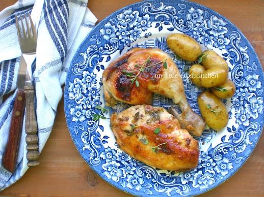 Sticky lavender honey chicken | Chicken | Pinterest
