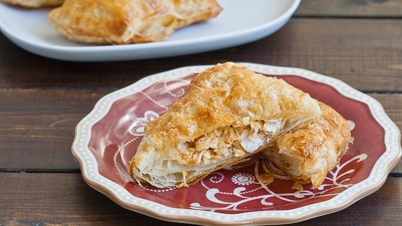 Buffalo Chicken in Puff Pastry