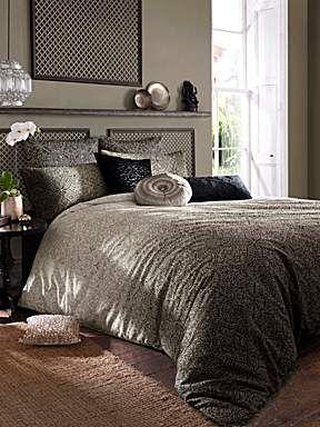 Venetto printed bed linen range in beige love love love pinterest