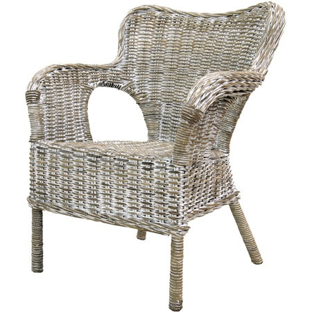 Brympton Rattan Arm Chair at Joss & Main