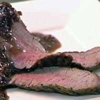 Hanger Steak with Shallot Cherry Sauce | Recipes | Food | Restaurants ...